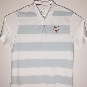 Nike Dri-Fit University of Texas Men's Polo